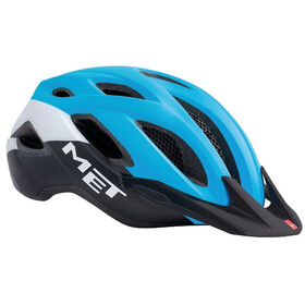 MET Crossover Bike Helmet blue/black